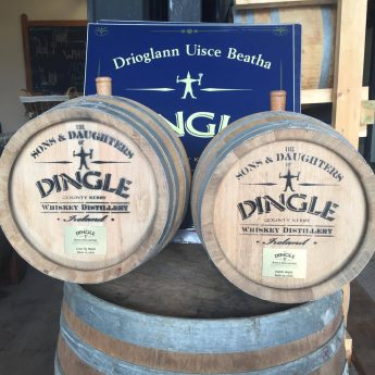Exclusive holiday cottages Kerry - Dingle gin barrels