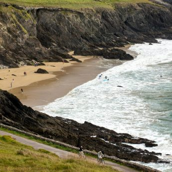 Holiday cottages Ireland - Coumeenoole beach