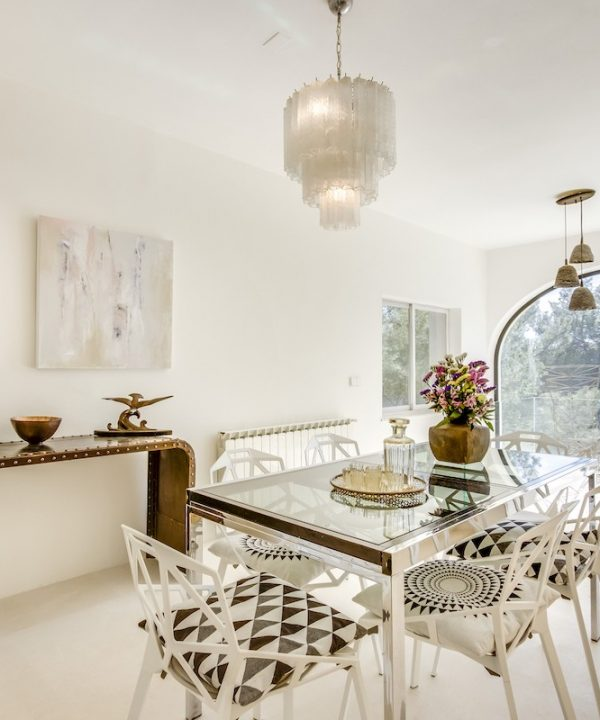 Luxury holiday houses Ibiza - Dining area