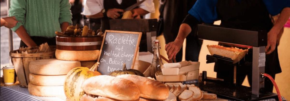 Holiday Letting on the Wild Atlantic Way - Food festival bread stall
