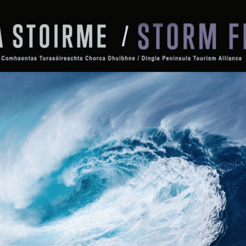 Holiday homes Kerry -Storm Festival banner
