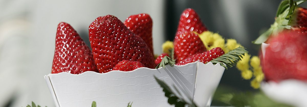 Holiday Letting Nice - Strawberries close up