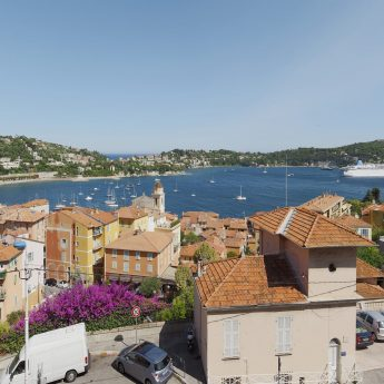 Holiday Villas on the French Rivera - Villefranche-sur-mer village view