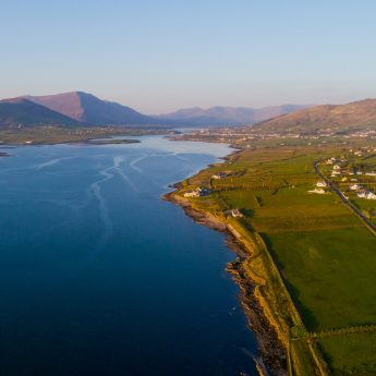 Exclusive holiday cottages Kerry - Cahersiveen view