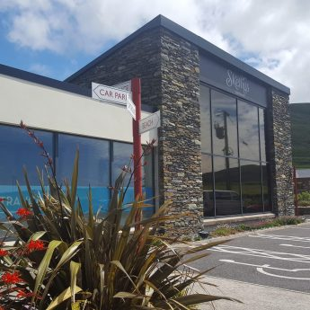 Exclusive holiday houses Kerry - Skellig chocolate factory exterior