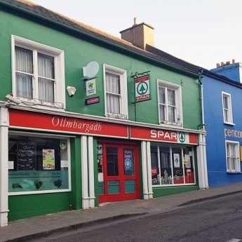 Exclusive holiday rentals on the Wild Atlantic Way - Spar exterior